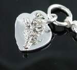 Rose Qtz close up charm